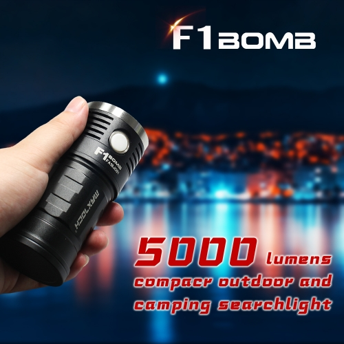 MAXTOCH F1 BOMB 5000 lumen Ultra-high Max Output, four Cree XP-L2 HD LED