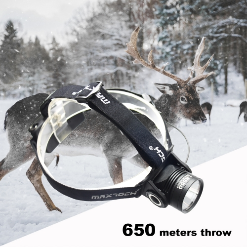 MAXTOCH LR550 Headlamp 650m