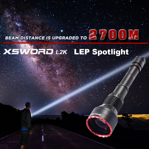 MAXTOCH Xsword L2K 2700 Meters Thrower , LEP Spotlights